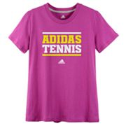 adidas Tennis Tee - Girls 7-16