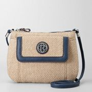 Relic Bleeker Flap Natural Mini Crossbody Bag