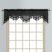 United Curtain Co. Monte Carlo Scalloped Window Valance - 59'' x 18''