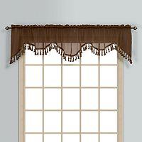 United Curtain Co. Monte Carlo Scalloped Valance - 59'' x 18''