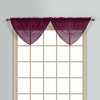 United Curtain Co. Monte Carlo Waterfall Valance - 60'' x 34''