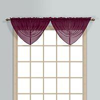 United Curtain Co. Monte Carlo Waterfall Window Valance - 60'' x 34''