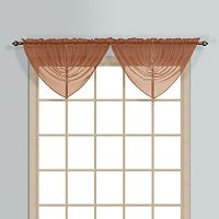 United Curtain Co. Monte Carlo Waterfall Window Valance - 60'' x 34''