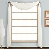 United Curtain Co. Monte Carlo Scarf Window Valance - 59'' x 144''