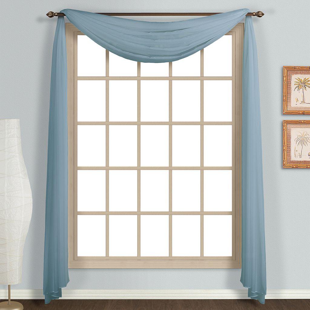 United Curtain Co. Monte Carlo Scarf Window Valance