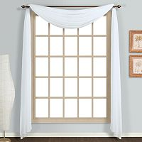United Curtain Co. Monte Carlo Scarf Window Valance