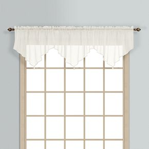 United Curtain Co. Monte Carlo Ascot Window Valance - 40'' x 22''