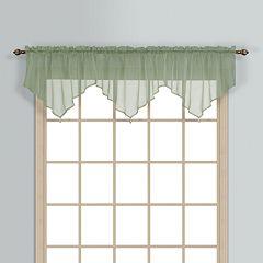 United Curtain Co. Monte Carlo Ascot Window Valance - 40'' x 26''