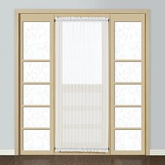 United Curtain Co. 1-Panel Monte Carlo Door Window Panel - 59'' x 72''