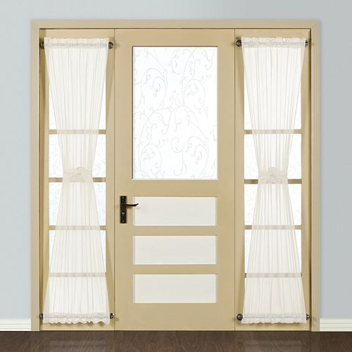 Curtain Co. Monte Carlo Sidelight Window Panel - 28'' x 72''