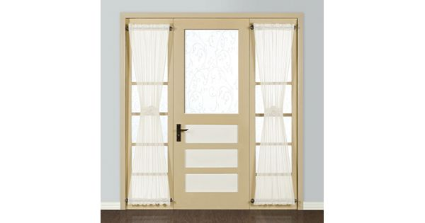 United Curtain Co Monte Carlo Sidelight Window Panel 28