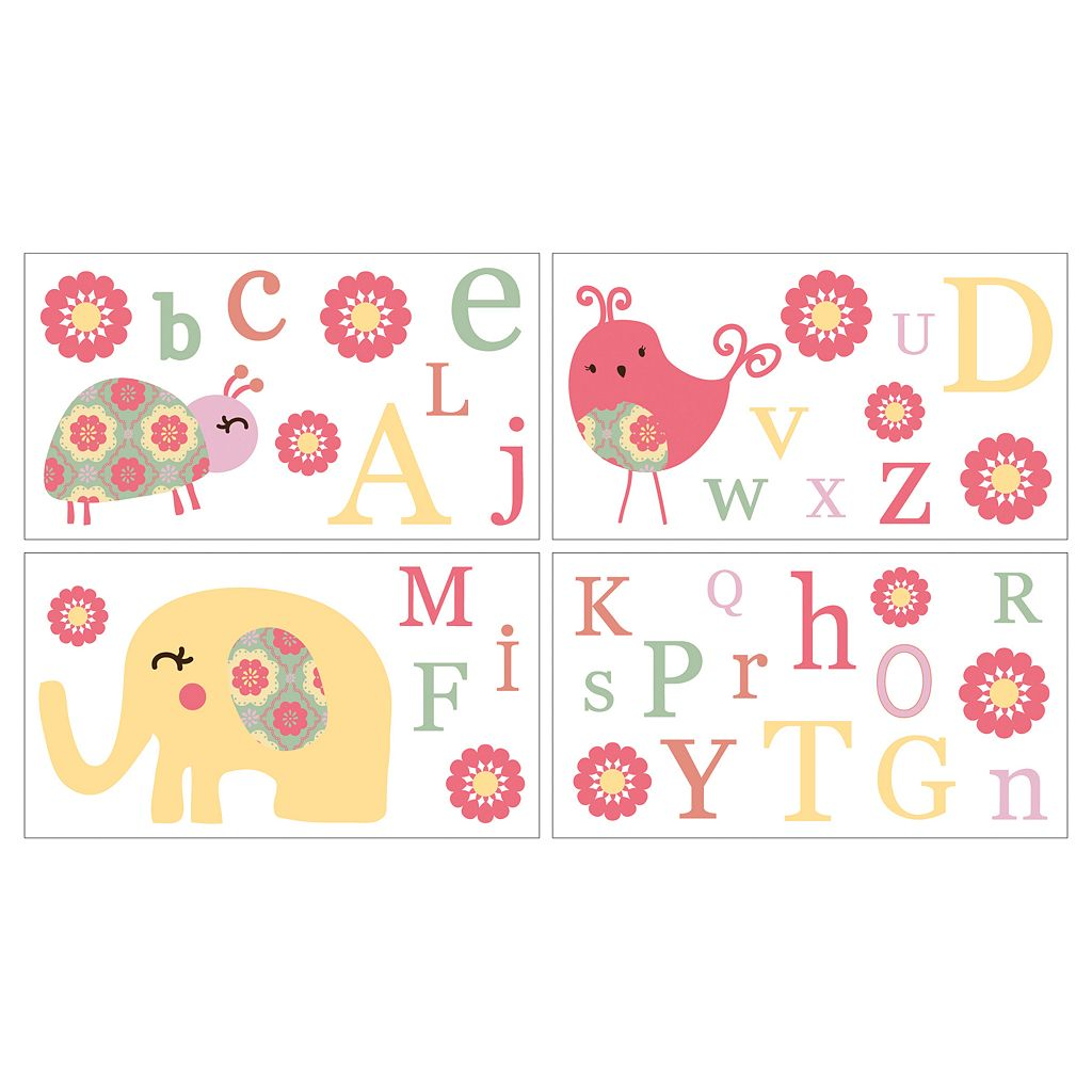 CoCo & Company Alphabet Sweeties Wall Decals