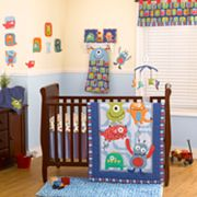 CoCo and Company 4-pc. Monster Buds Crib Set