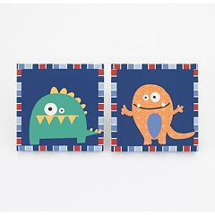 CoCo & Company 2 pkMonster Buds Wall Art