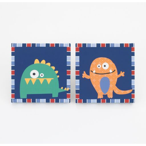 CoCo and Company 2-pk. Monster Buds Wall Art