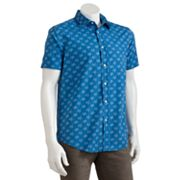 Batik Bay Slim-Fit Starfish Casual Button-Down Shirt