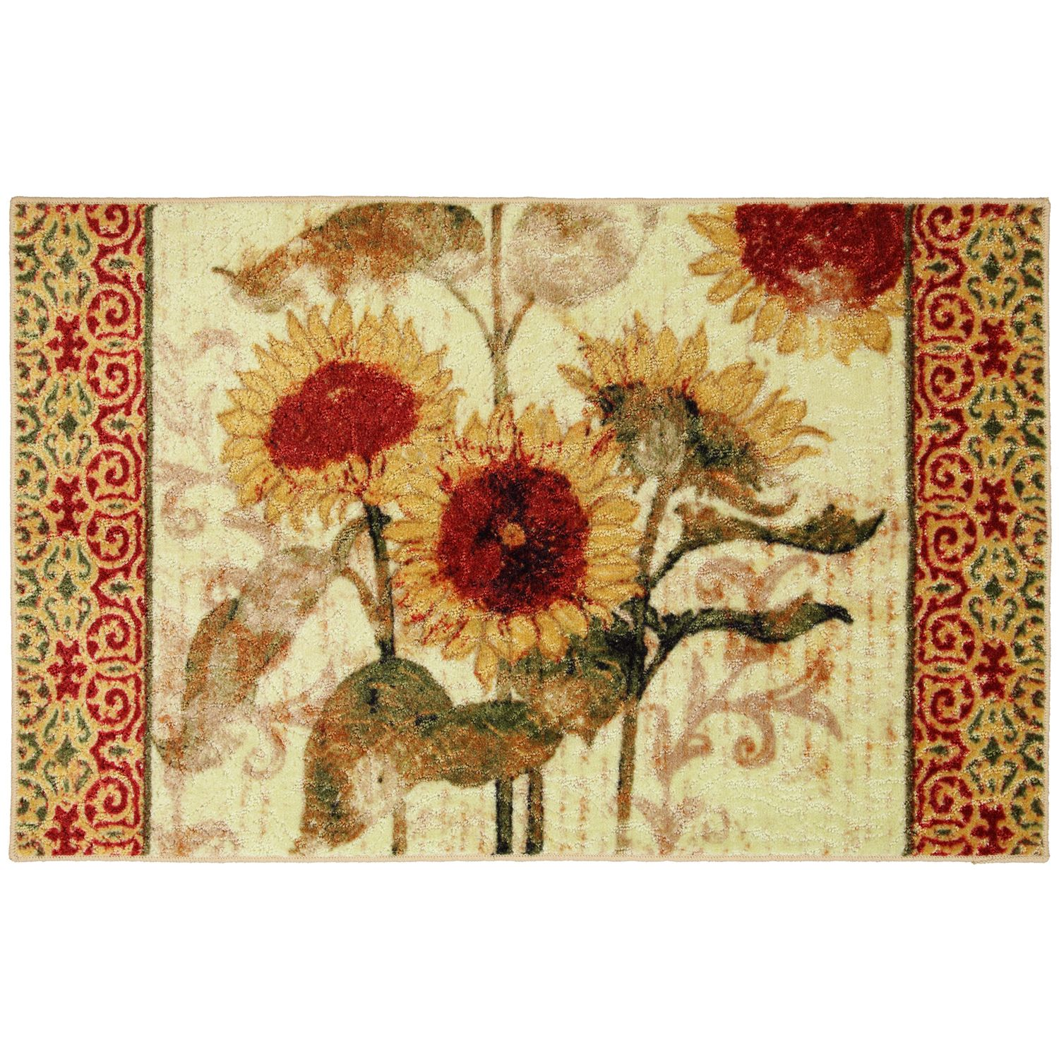 Mohawk Home Sunflower Elegance Kitchen Rug