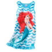 Disney Princess Ariel Striped Nightgown - Girls 7-16