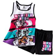 Monster High Faces Pajama Set - Girls 7-16