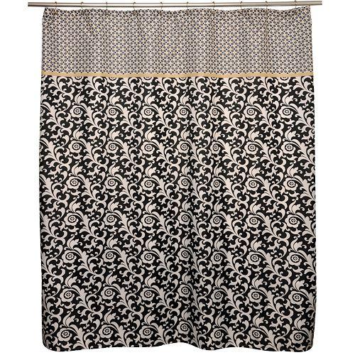 Waverly Angelique Nightfall Shower Curtain
