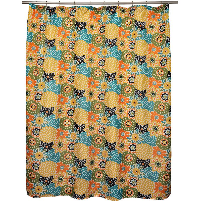 DENY Designs Karen Harris Modernity Solstice Warm Chevron Fabric