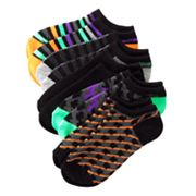 Geo 5-pk. No-Show Socks - Boys 7-11