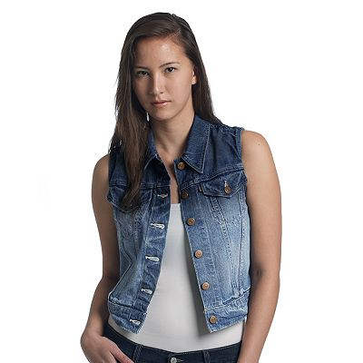 Levi's Denim Trucker Vest - Juniors
