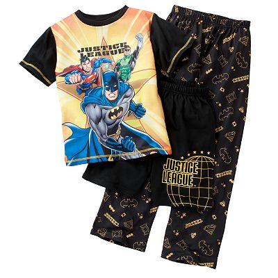 Justice League 3-pc. Pajama Set - Boys