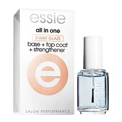 essie All-In-One 3-Way Glaze Polish