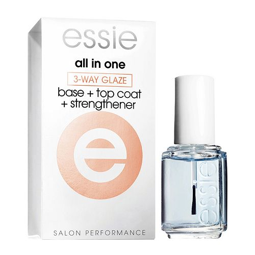 essie All-In-One 3-Way Glaze Polish
