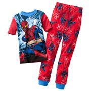 Spider-Man Hanging Spider Pajama Set - Boys 4-10