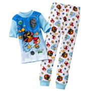 Angry Birds Space Fly Fly Away Pajama Set - Boys 4-10