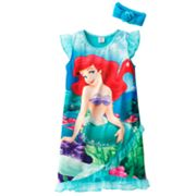 Disney Princess Ariel Nightgown - Girls