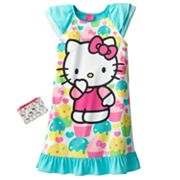 Hello Kitty Cupcake Nightgown - Girls