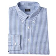 Arrow Classic-Fit Plaid Button-Down Collar Dress Shirt