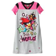 Angry Birds Space Out of This World Nightgown - Girls