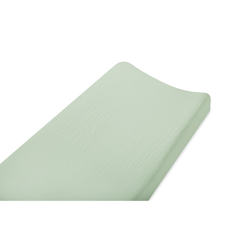 aden + anais Solid Muslin Changing Pad Cover