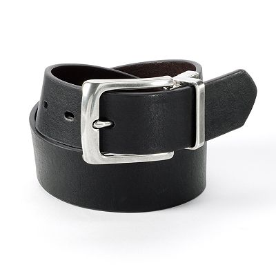 Rock and Republic Milled Reversible Leather Belt
