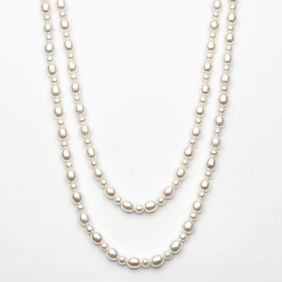 Freshwater Cultured Pearl Convertible Necklace