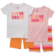 Carter's Love Pajama Set - Girls