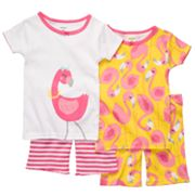 Carter's Flamingo Pajama Set - Girls