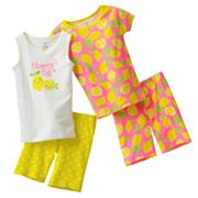 Carter's Lemon Pajama Set - Girls