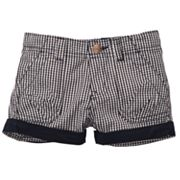 OshKosh B'gosh Cuffed Gingham Shorts - Toddler