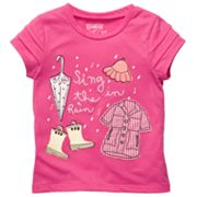 OshKosh B'gosh Sing in the Rain Tee - Toddler