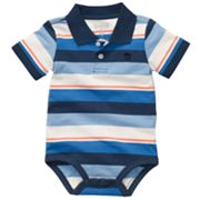 OshKosh B'gosh Striped Polo Bodysuit - Baby