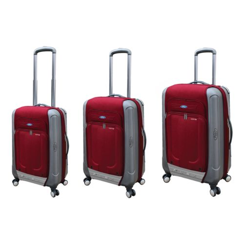 FORD Flex 2 3-pc. Expandable Spinner Hybrid Luggage Set