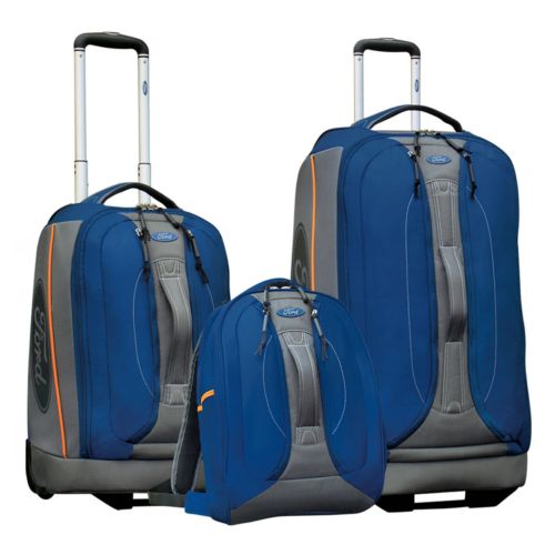 FORD Fusion 3-pc. Sport-Style Wheeled Luggage Set