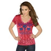 G3 by Alyssa Milano Philadelphia Phillies Team Pride Tee - Women