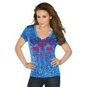 G3 by Alyssa Milano Texas Rangers Team Pride Tee - Women