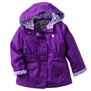OshKosh B'gosh Heart Cuffed Active Jacket - Toddler